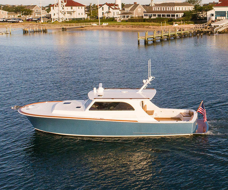 Nantucket Custom Boat Triple take